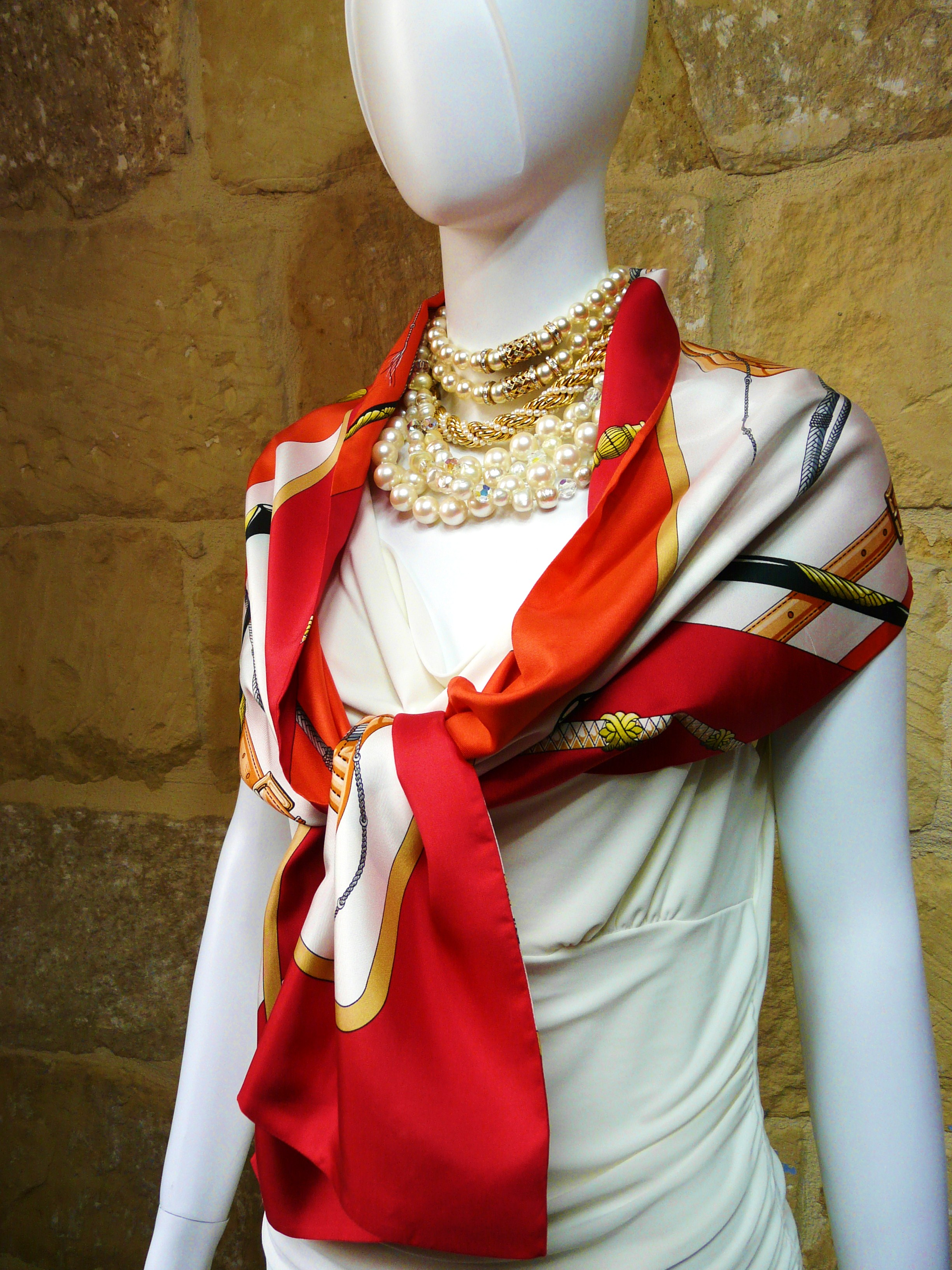 Another stunning Opera Scarf just listed for sale in our store