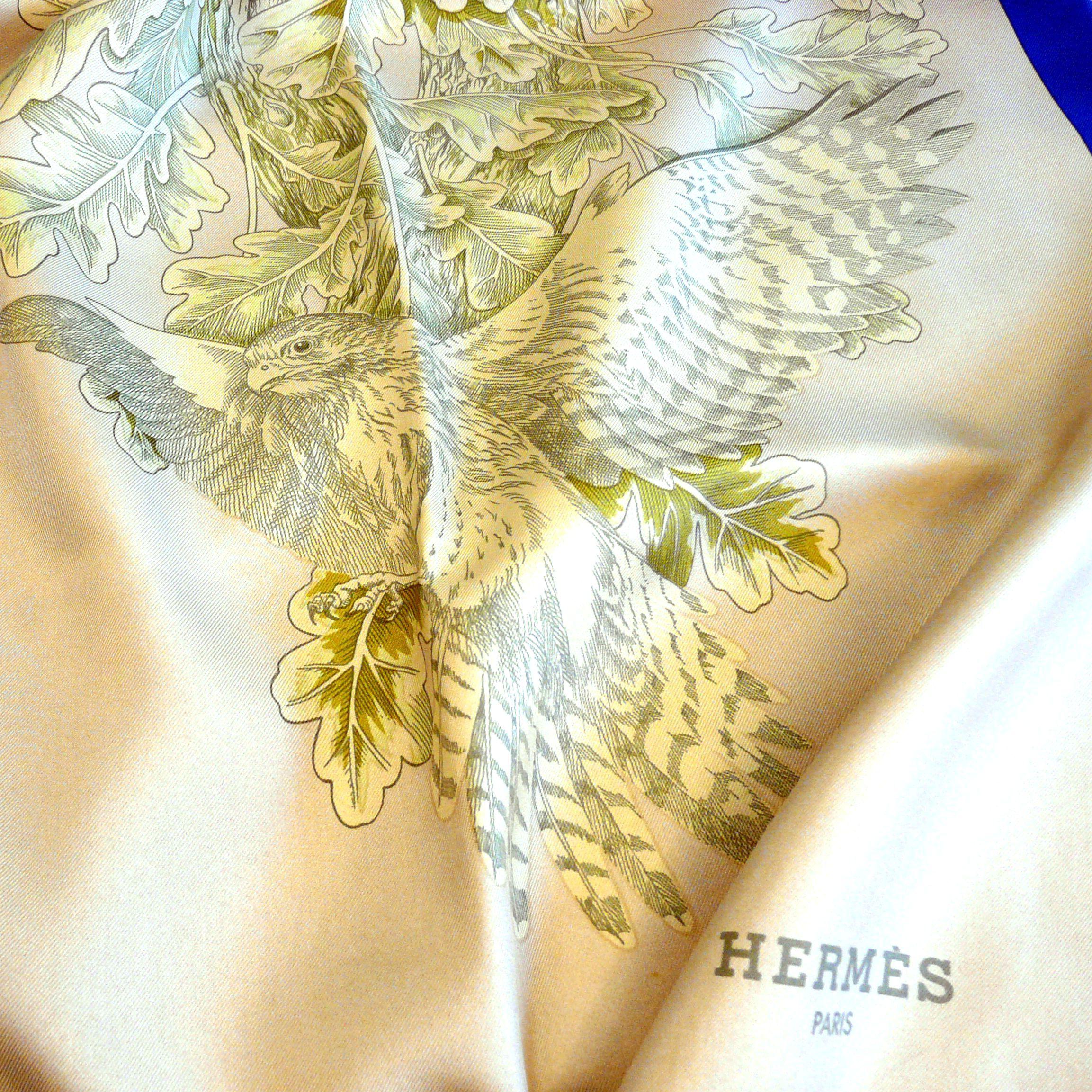 Rare reversible Hermes Shawl