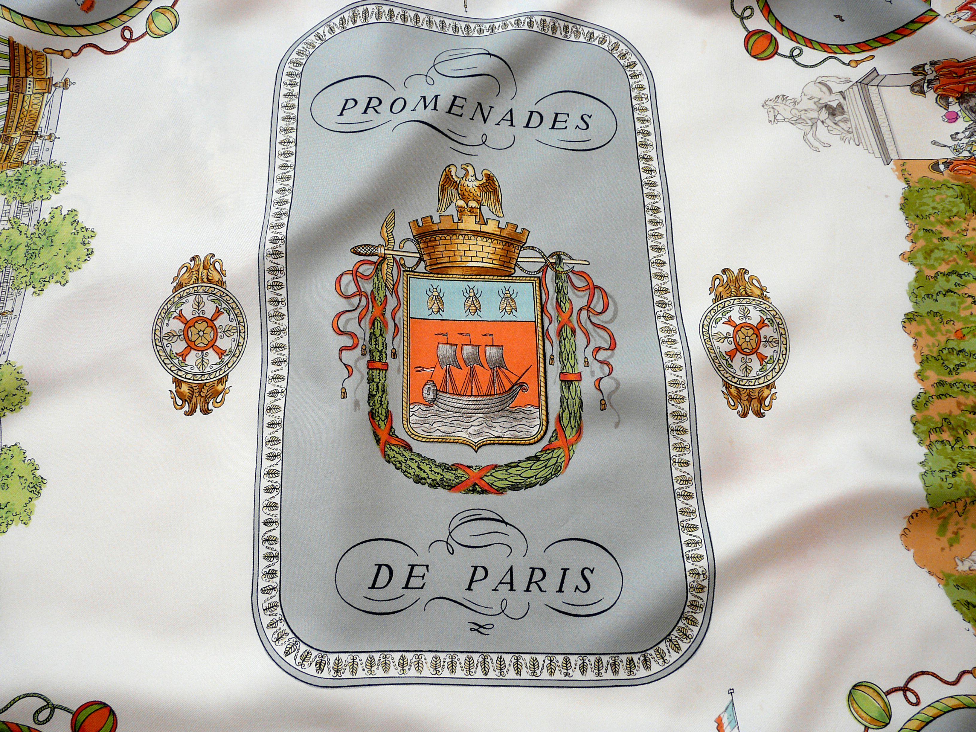 Promenades de Paris HERMES 1962, Coat f Arms
