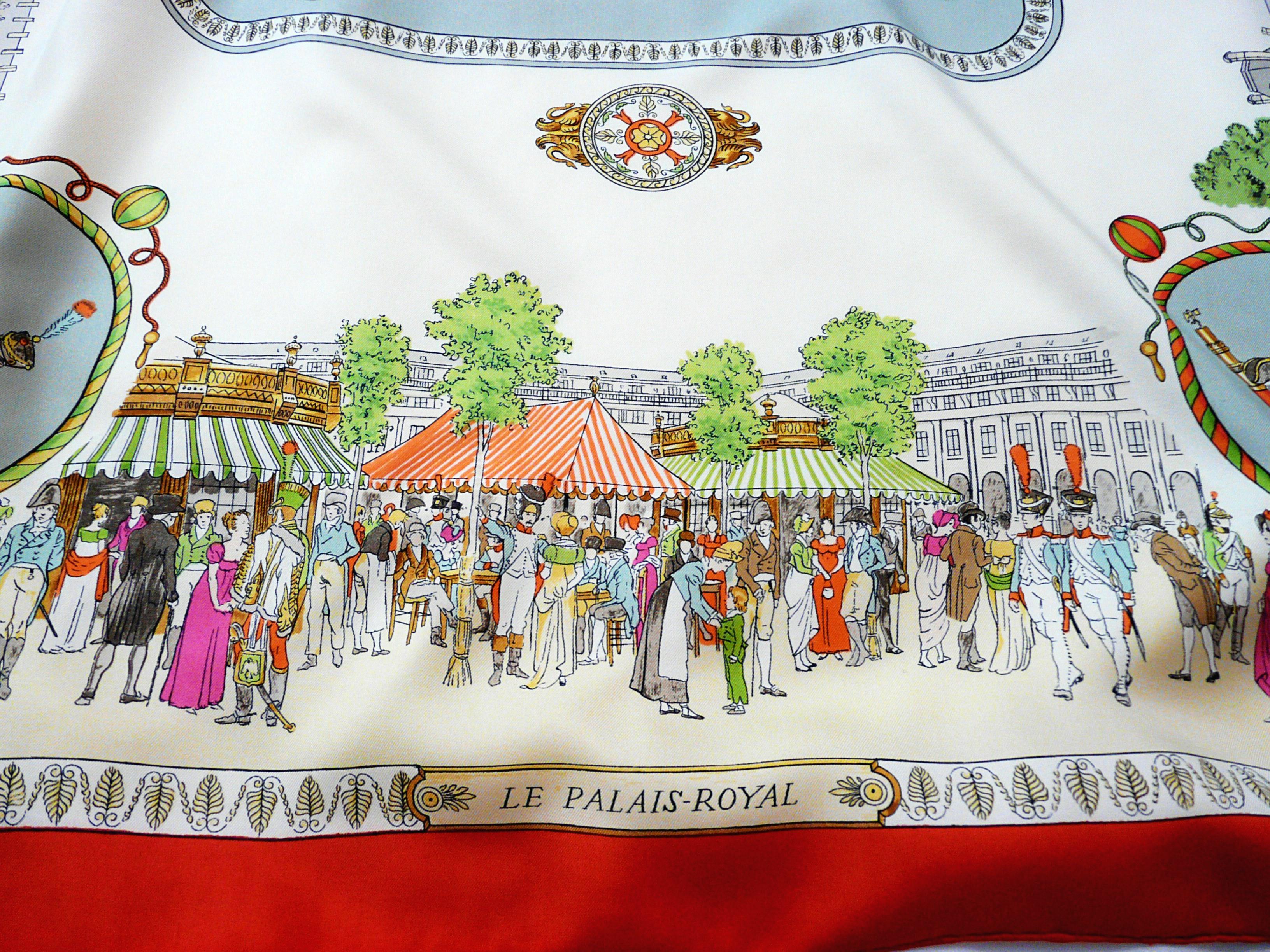 Promenades de Paris Les Palais-Royal HERMES