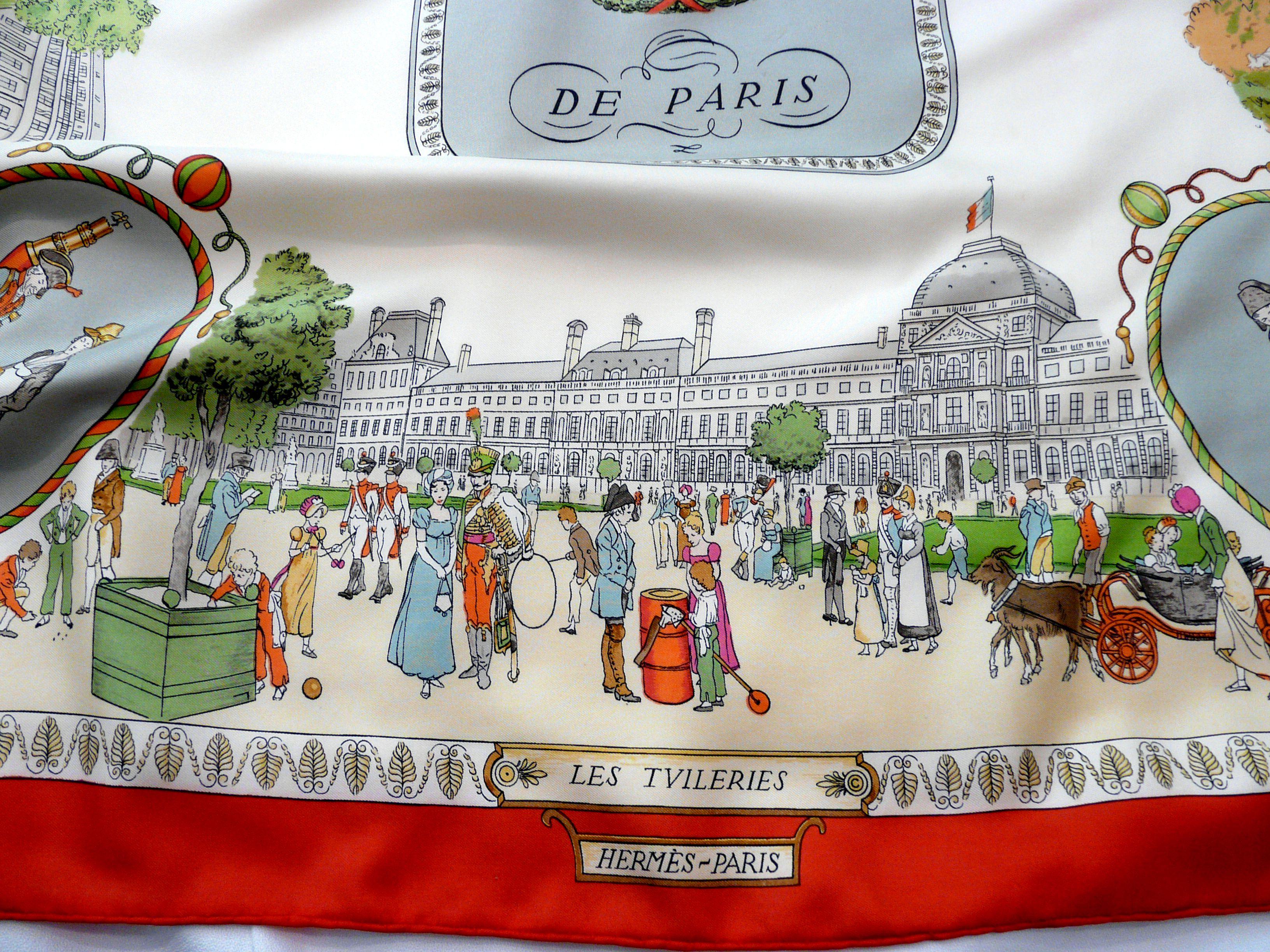 Promenades de Paris Les Tuileries detail