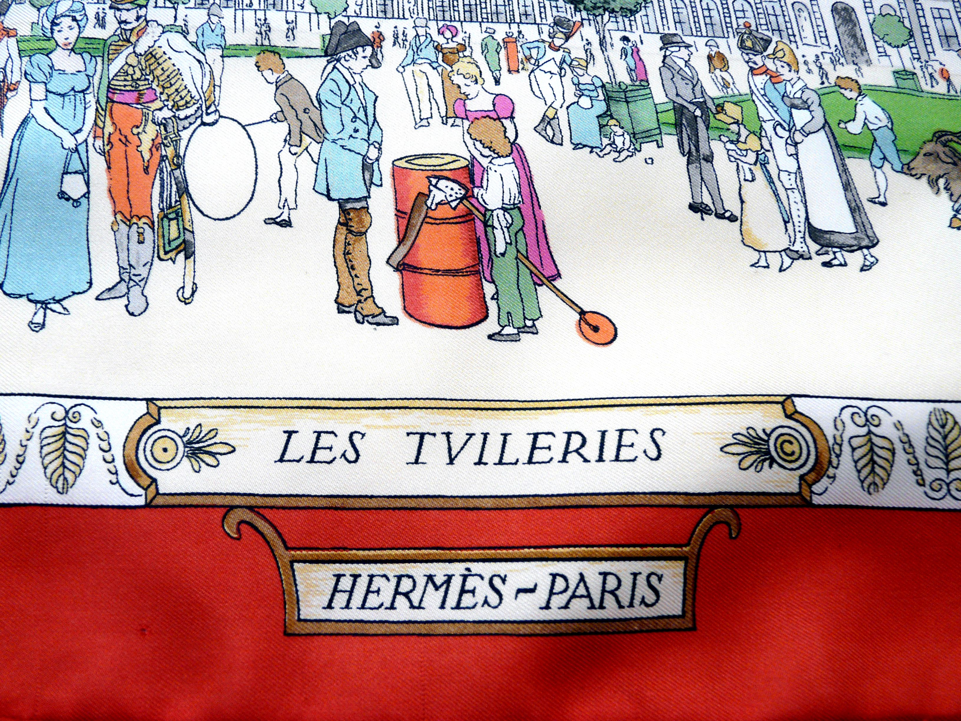 Promenades de Paris Les Tuileries HERMES Close Up
