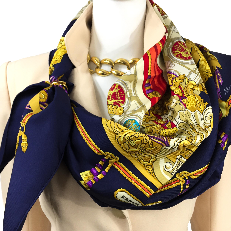 Hermes Silk Scarf Hommage à Charles Garnier_-8
